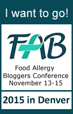 I want to go to the 2015 Food Allergy Bloggers Conference! #FABLOGCON