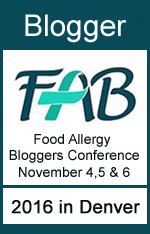 I'm a Bloger at the 2015 Food Allergy Bloggers Conference #FABLOGCON
