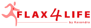 Flax Logo with running guy